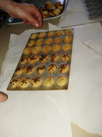 Les madeleines...
