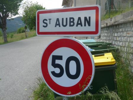 Saint-Auban, 2012...